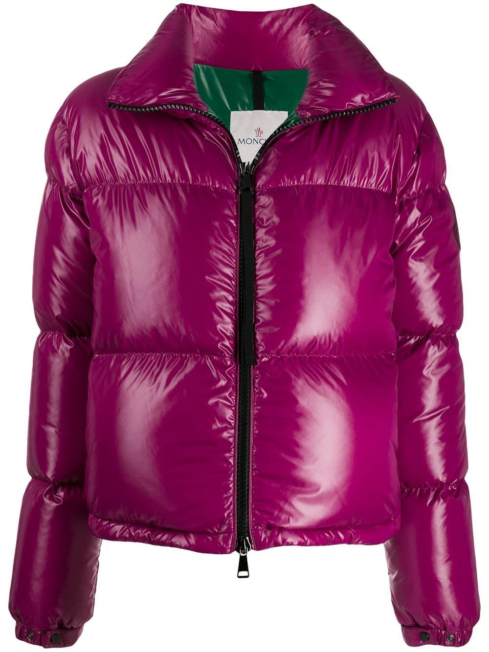 pretty nice 1a313 a082e MONCLER MONCLER SCHMALE DAUNENJACKE - ROSA. #moncler #cloth ...