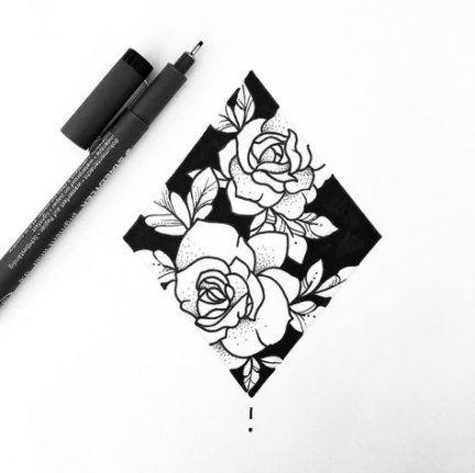 New flowers design tattoo sketches botanical illustration ideas – Me – – Tattoo