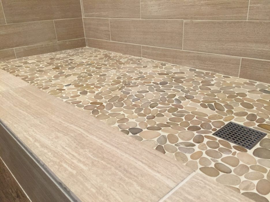 Image Result For Shower Floor Tiles Non Slip Small Bathroom Tiles Pebble Tile Shower Floor Shower Floor Tile