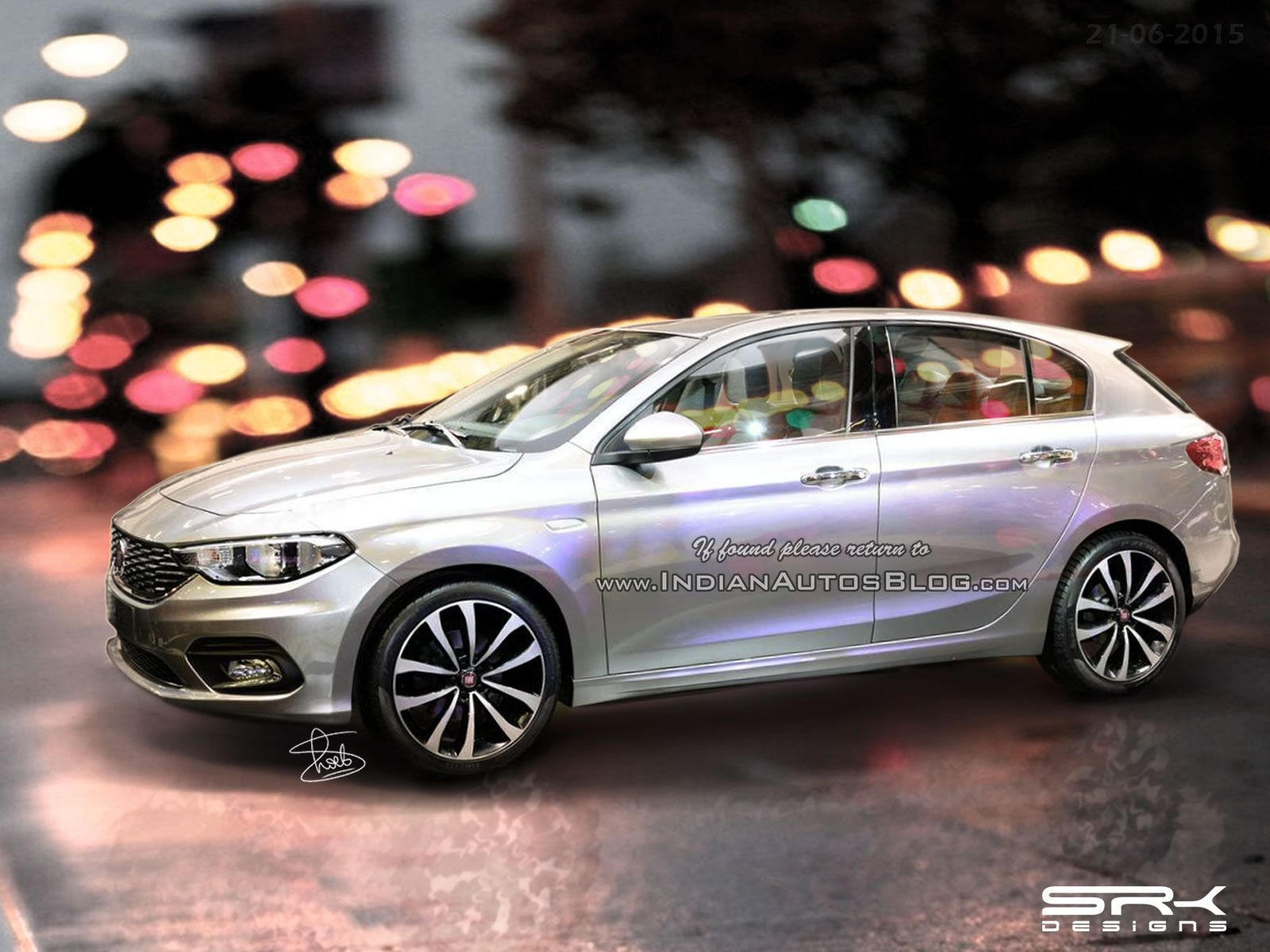 Fiat Aegea Hatchback And Estate Iab Rendering With Images