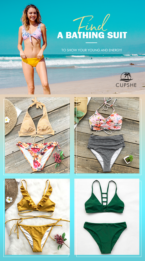 6698f56bb0 Have fun in the sun or pool in summertime with our range of stylish women s  swimwear. Adorable   affordable~ Shop now!