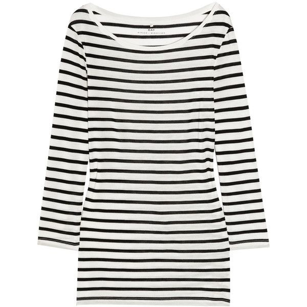 Striped Day Fine Birger Mikkelsen Top Jersey 91 Et aaxOqwH