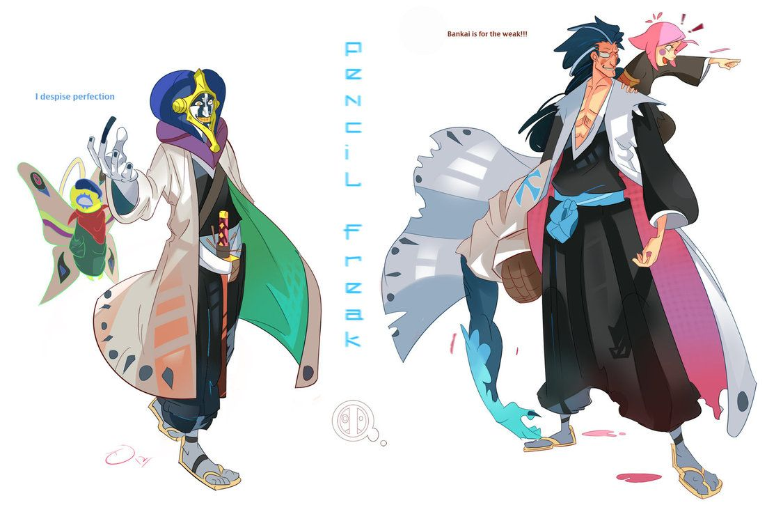 All 13 Characters From The Original Bleach Captains Have Been Painted YES Sorry Lol I Was Getting A Bit Tired When Hit 10 But Now Give You Kenp