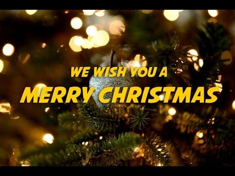 We Wish You A Merry Christmas Lyrics Video For Karaoke Christmas Lyrics Merry Christmas Lyrics Karaoke
