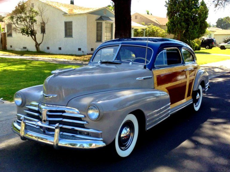 1948 Chevrolet Fleetline Woody For Sale 1754422 Chevrolet