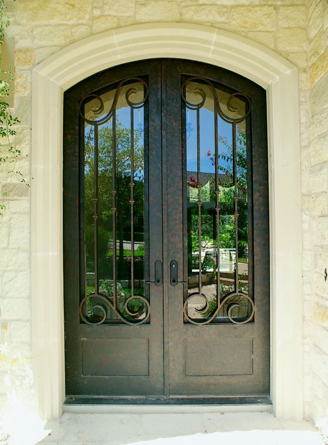 Bella Villa 68 5 Wrought Iron Doors Windows Gates Railings From Cantera Doors Wrought Iron Doors Front Entrances Iron Front Door Wrought Iron Doors