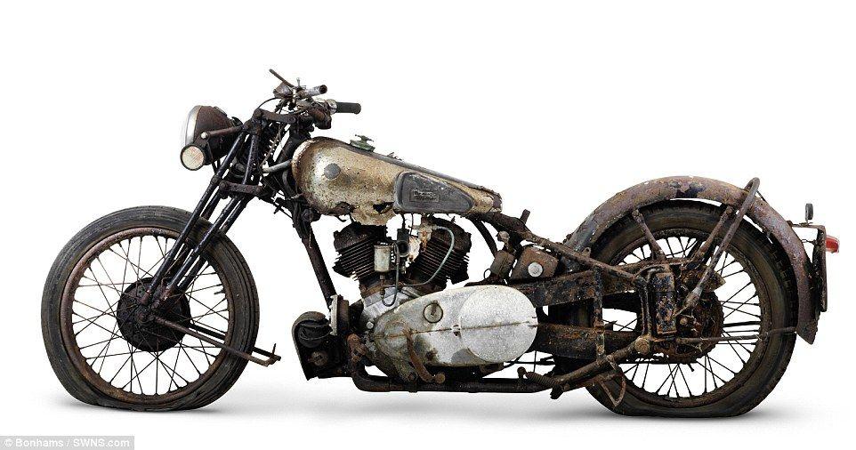 Rare Brough Superior Motorcycles Found In A Barn CornwallBarn FindsChildrenVintage