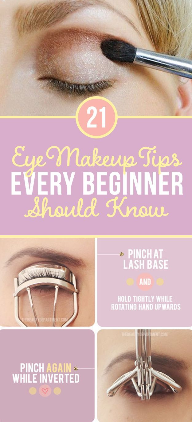 Beginners Eye Makeup: 21 Eye Makeup Tips Beginners Secretly Want To Know