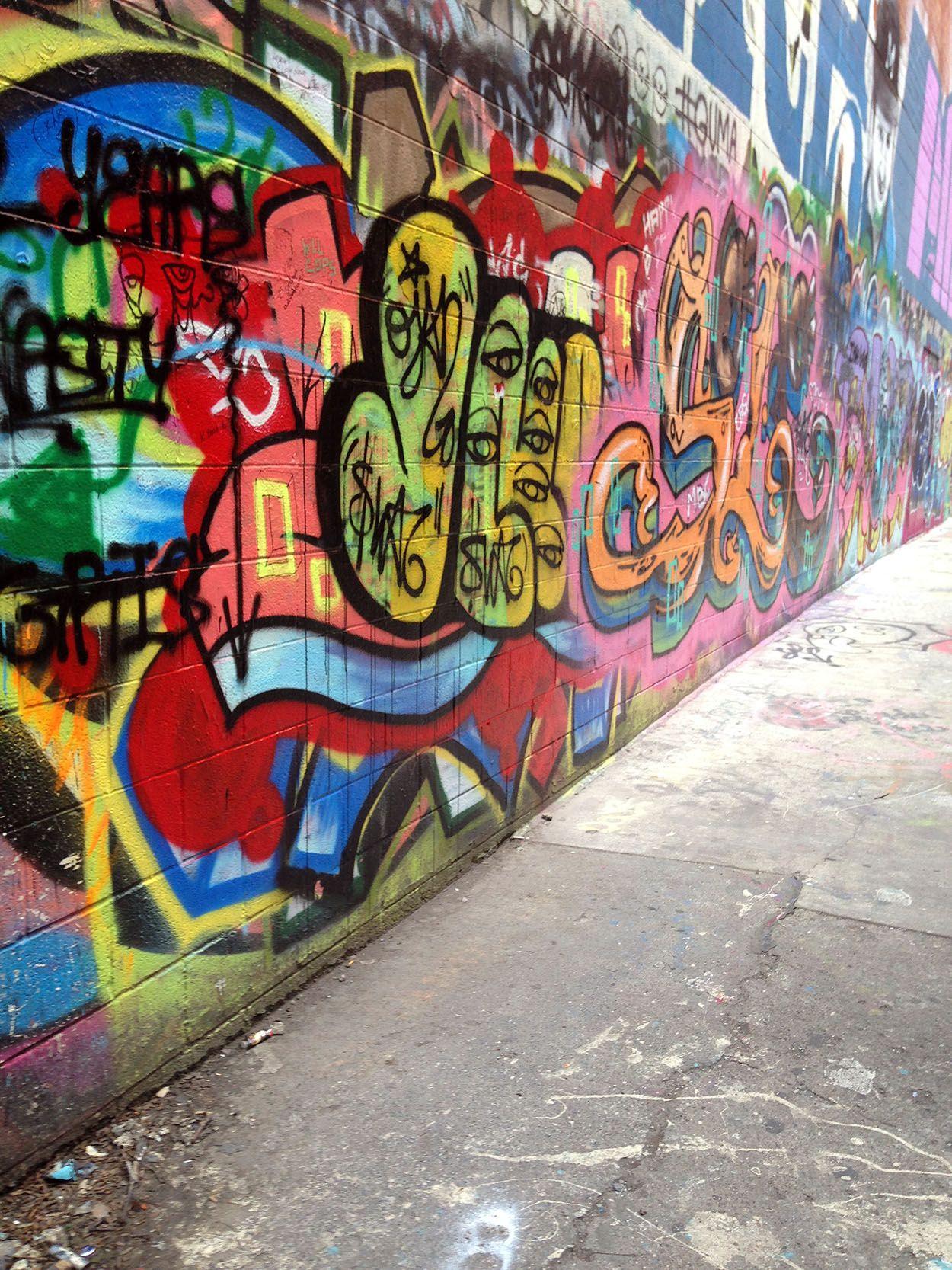 Graffiti wall ann arbor - Graffiti Alley Polka Dots And Picket Fences Family Times Pinterest Dots Fence And Polka Dots