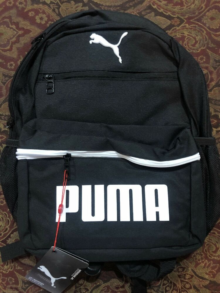 Puma Evercat Meridian Jr Backpack (Black white)  fashion  clothing  shoes   accessories  unisexclothingshoesaccs  unisexaccessories (ebay link) 14e94da10fa81