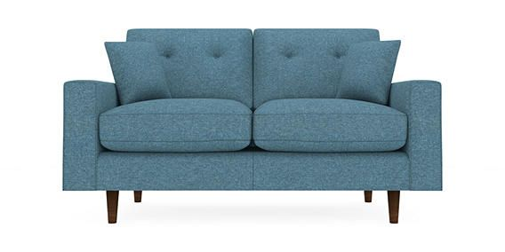 Larson Medium Sofa Seats Cosy Twill Light Grey Conical From The Next Uk Online