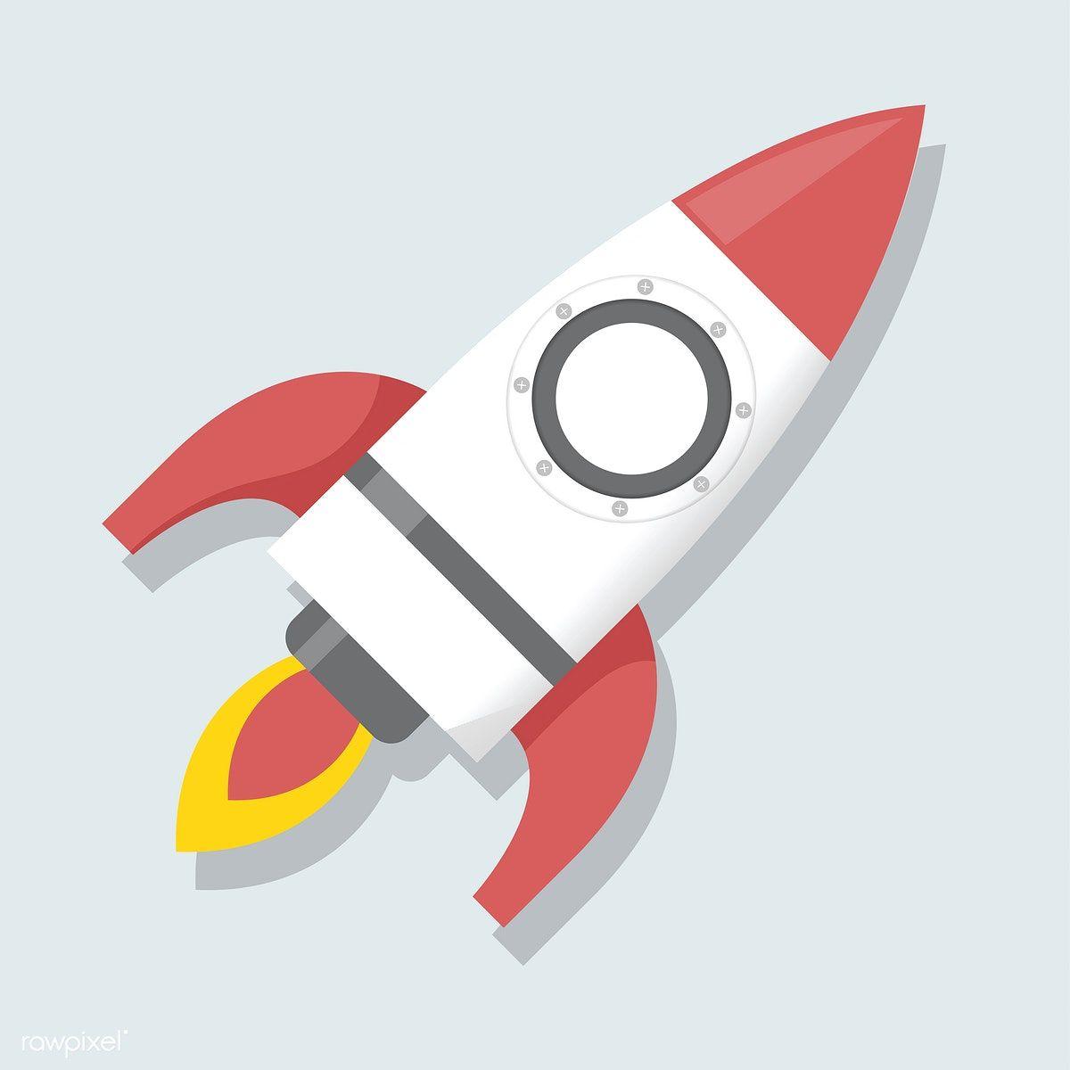 Download Premium Vector Of Illustration Of Rocket Icon 747 Stock Images Free Free Vector Illustration Illustration