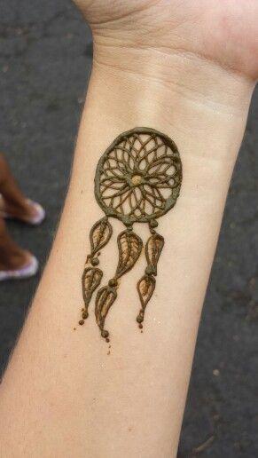 Dream Catcher Henna Tattoo Designs: Henna Dream Catcher Tattoo