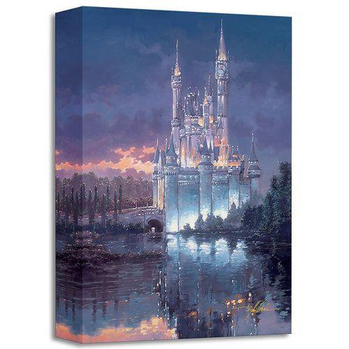 Cinderella ''Royal Reflection'' Giclée by Rodel Gonzalez | shopDisney