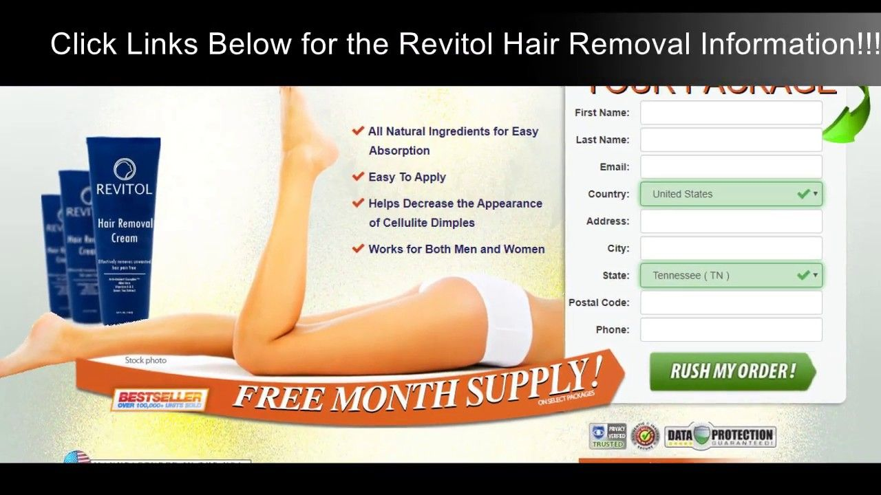 Revitol Hair Removal Cream Reviews Testimonials Prices