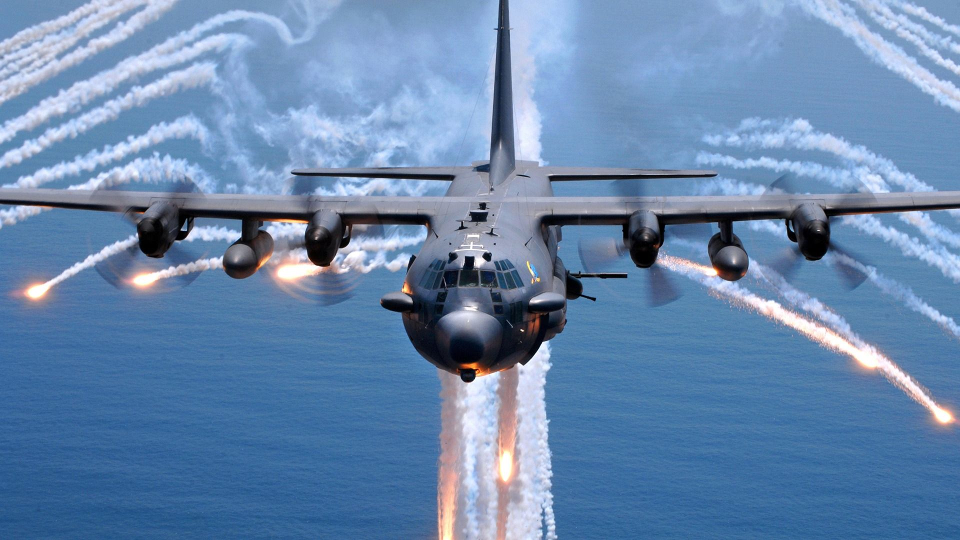 C130 Hercules...would love to fly this machine