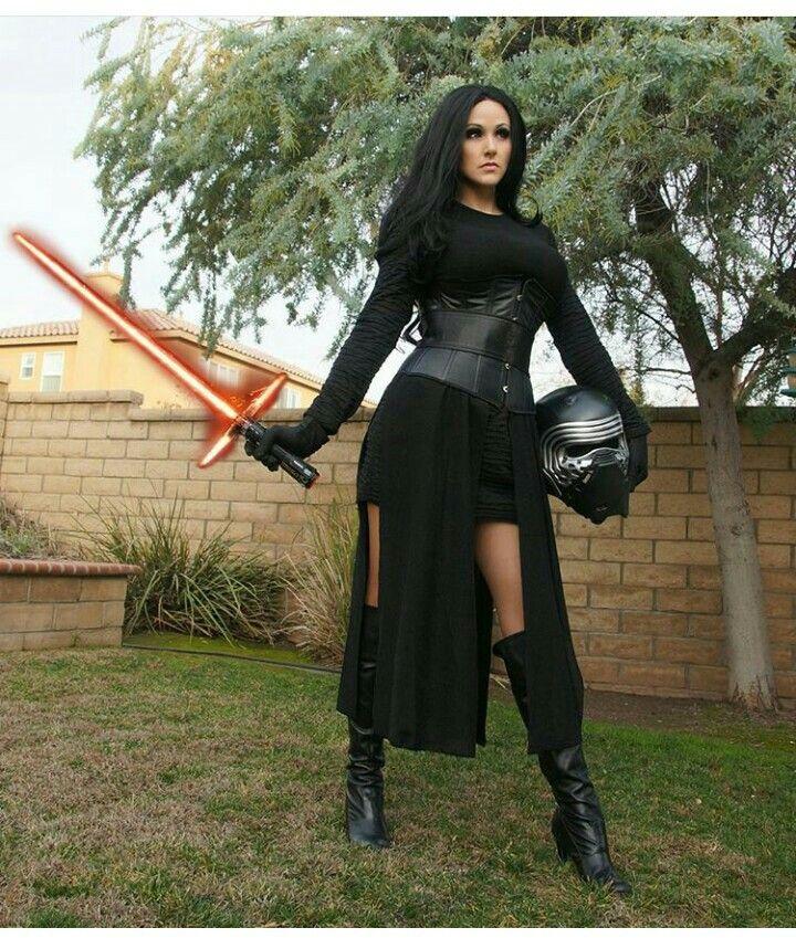 Kylo Ren Costume Women  Cosplay  Star Wars Halloween -3966