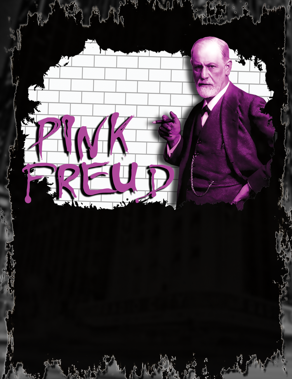 8cb19f4525cc9 Pink Freud T-Shirt from