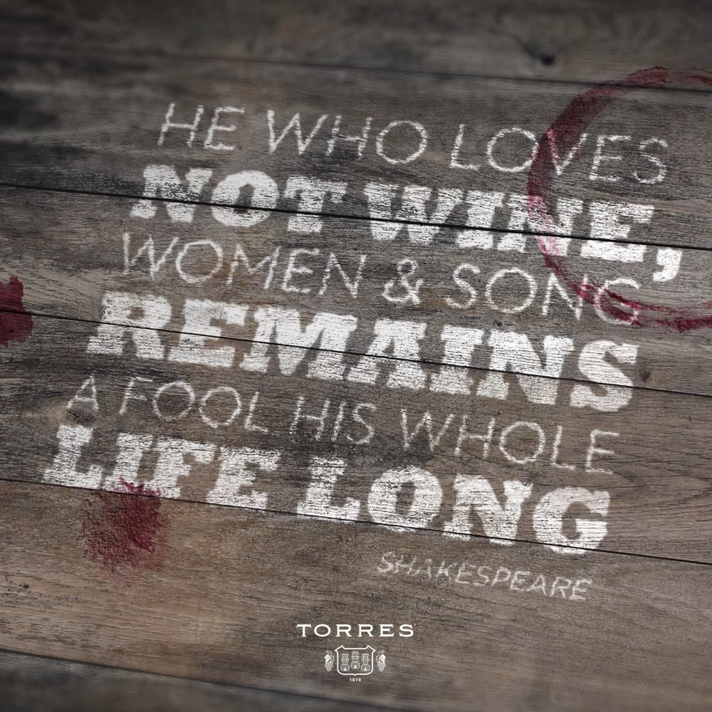 He who loves not #wine, women & song remains a fool his whole life long
