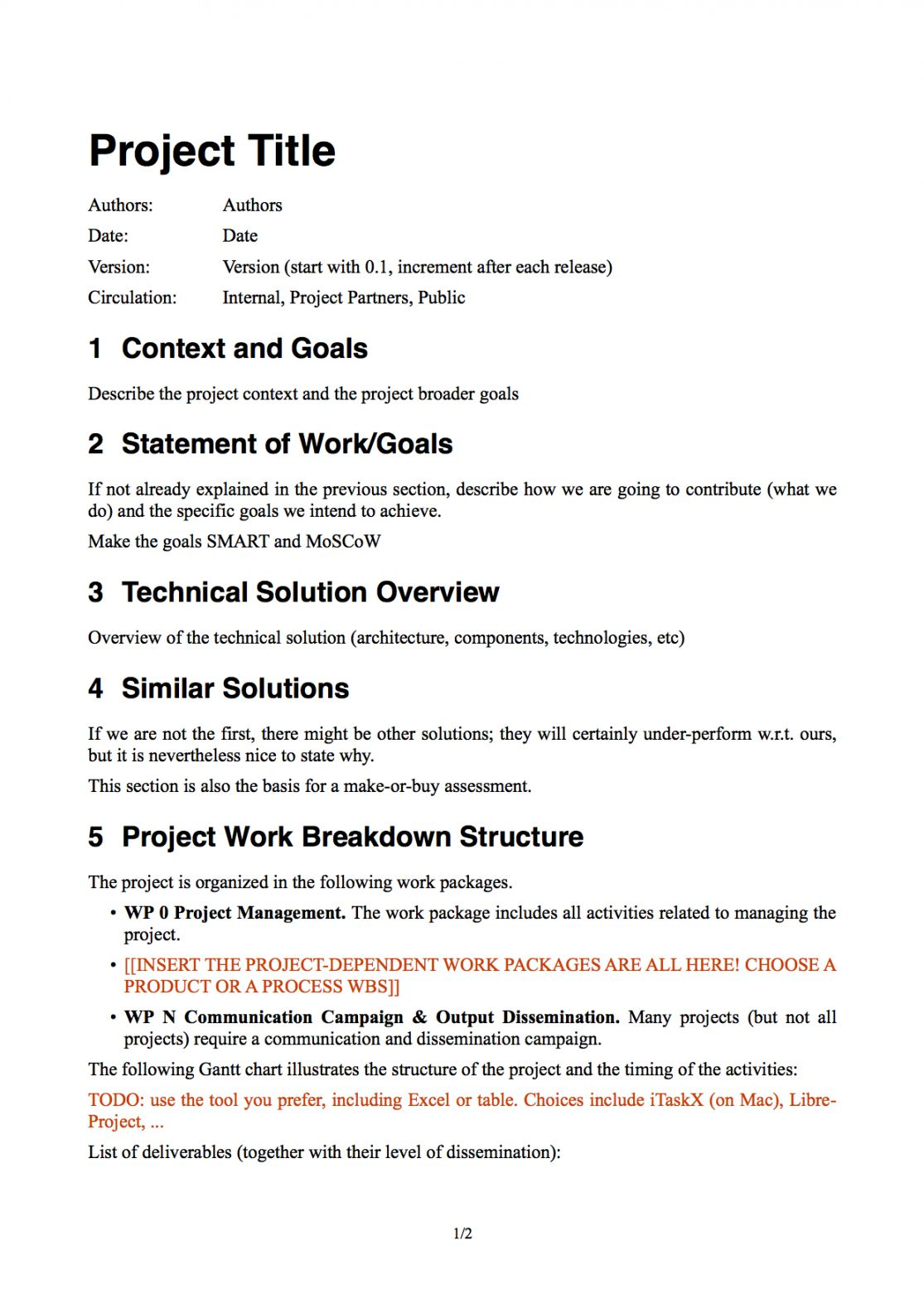 Browse Our Example of Software Project Quotation Template