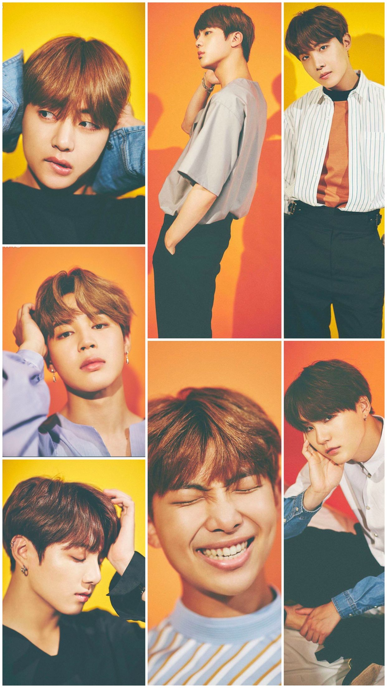 BTS NONNO 2017 Iphone 6 plus wallpaper Credit stphn