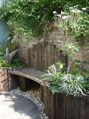 Photo of A Weathered Retreat | Sue Townsend Garden Design