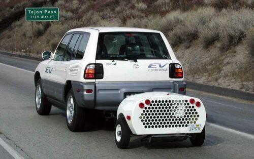 Rav4 Ev With Lone Ranger Range Extender