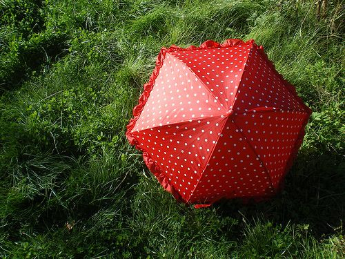 red.dot.green.grass
