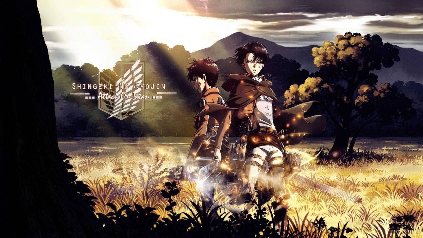 Eren And Levi Anime Wallpaper Attack On Titan Anime Attack On Titan Levi
