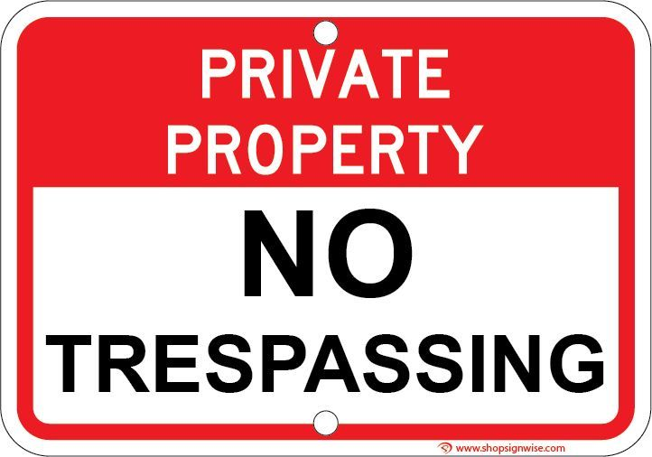 picture regarding Printable No Trespassing Signs titled Personalized Household No Tresping Indications No tresping