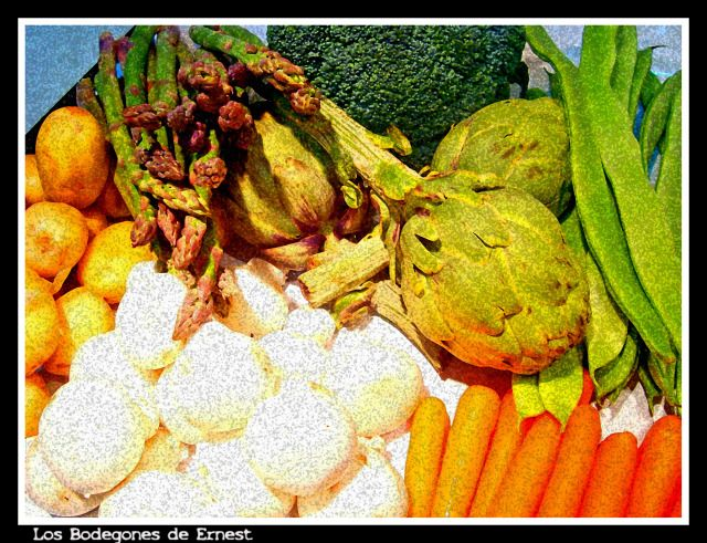 Bodegón- Menestra de Verduras