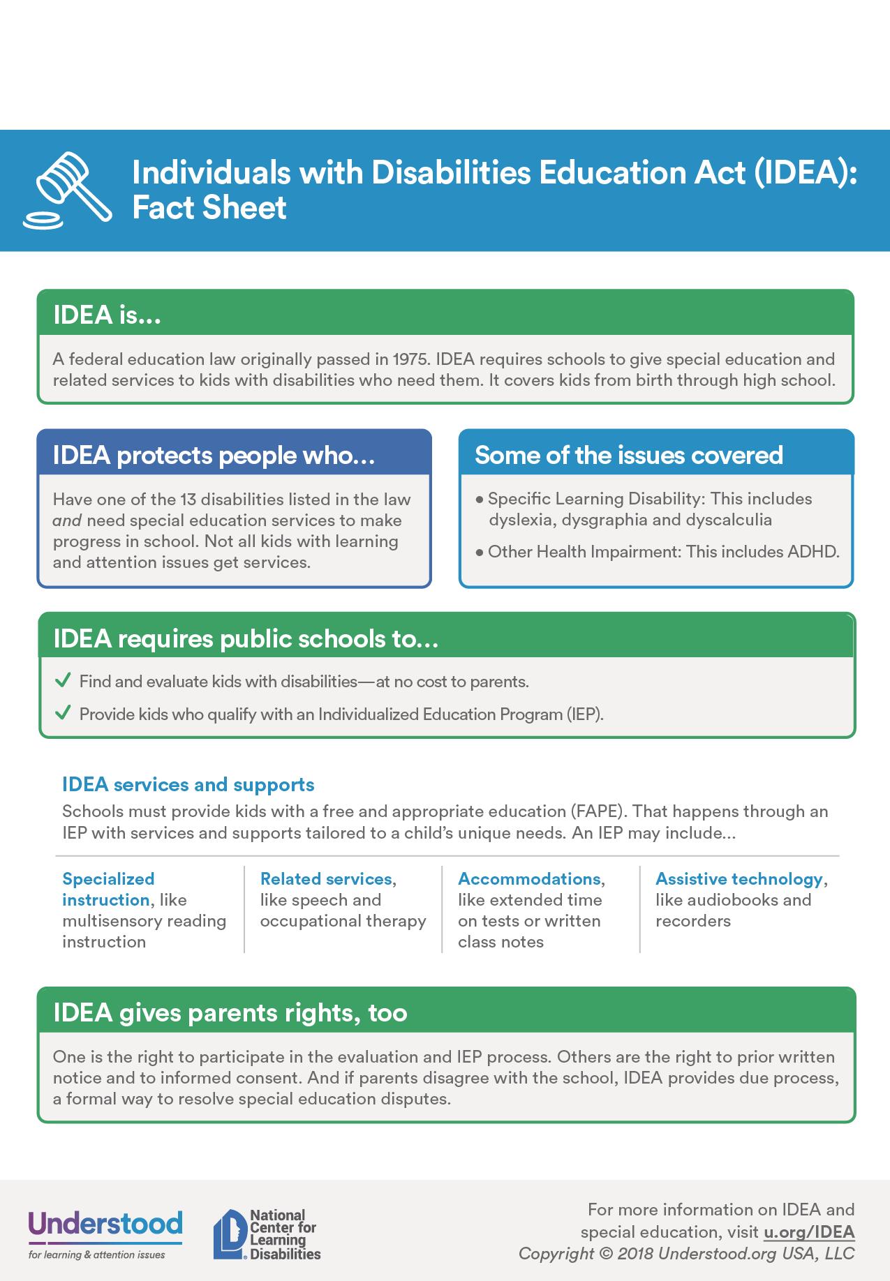 Idea Fact Sheet