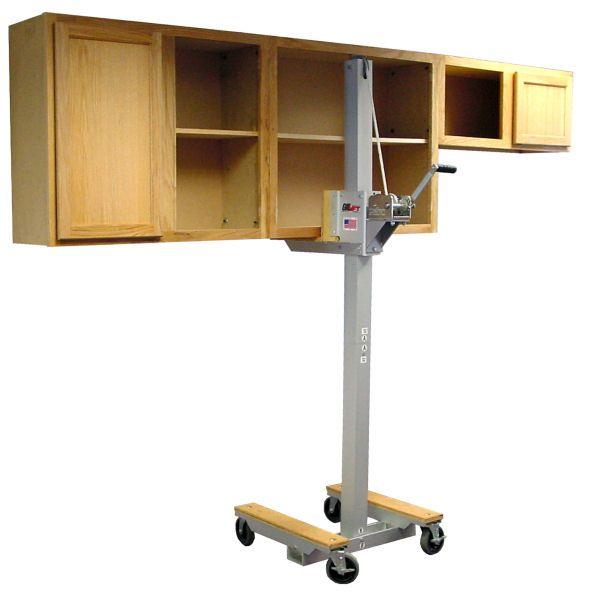 Cabinet lift, cabinet jack lifting upper kitchem cabinets ...