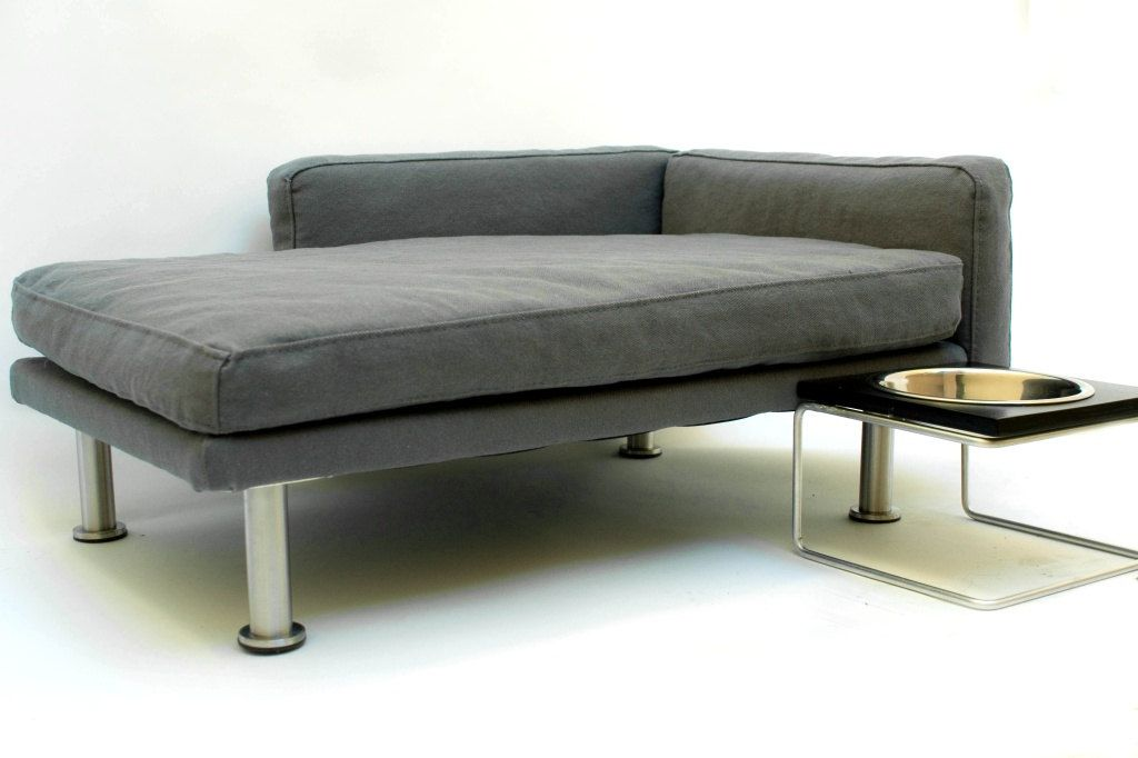 Modern Pet Bed, Chaise Lounge Chair (Cat Bed / Small Dog Bed).