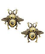 Yochi Gold Fly Earrings