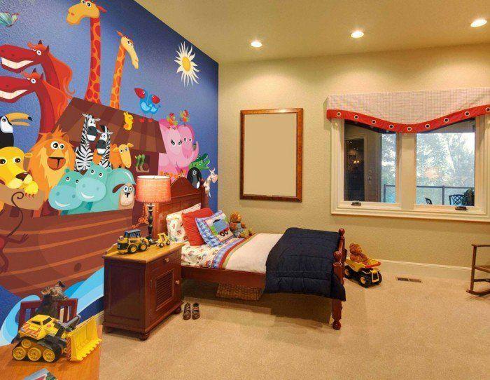 Peinture chambre enfant - 70 idées fraîches Peinture chambre