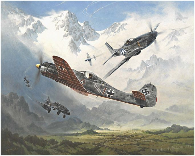 Ambush! by Heinz Krebs The German Me 262 jet fighters, used primarily to attack USAAF heavy bomber formations in early 1945, were very vuln...