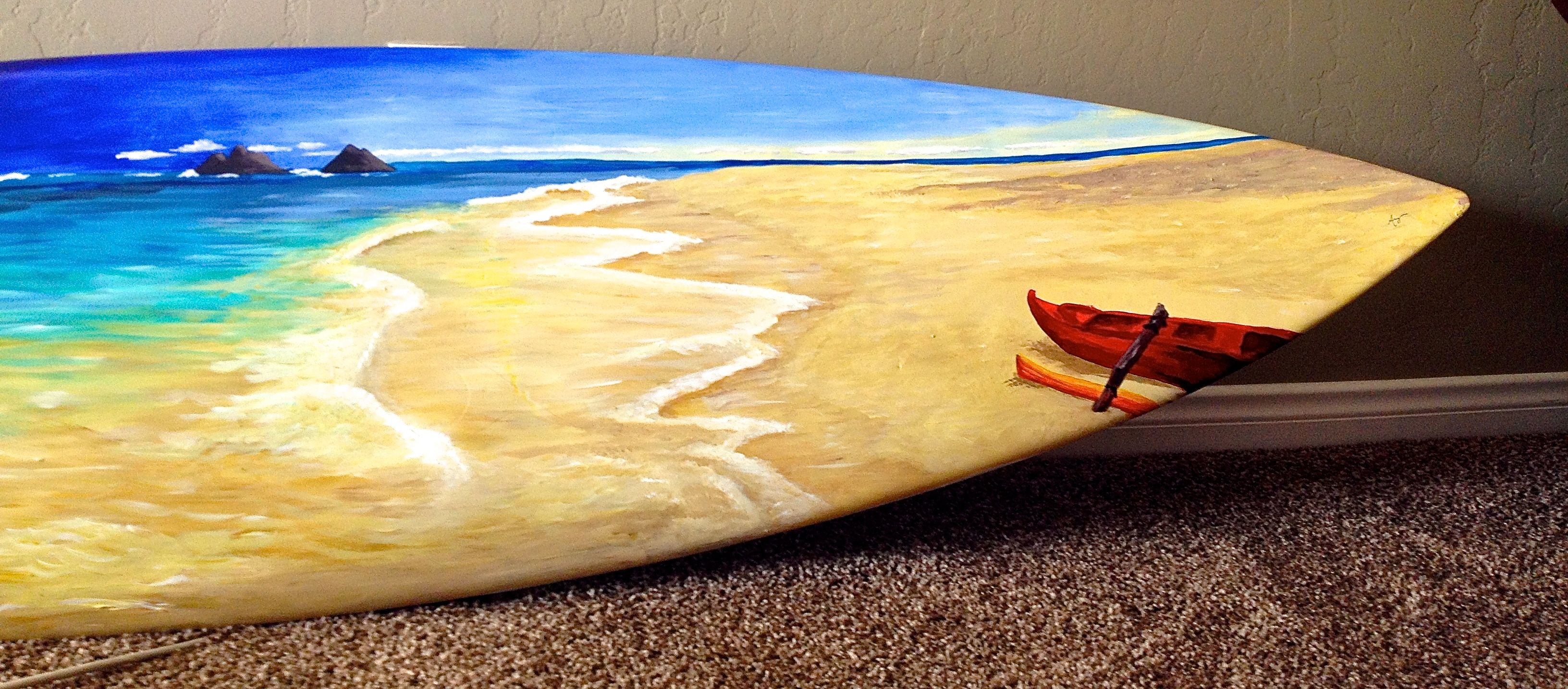 Decorative Surfboard Art | See The Boards | Alex room ideas ...