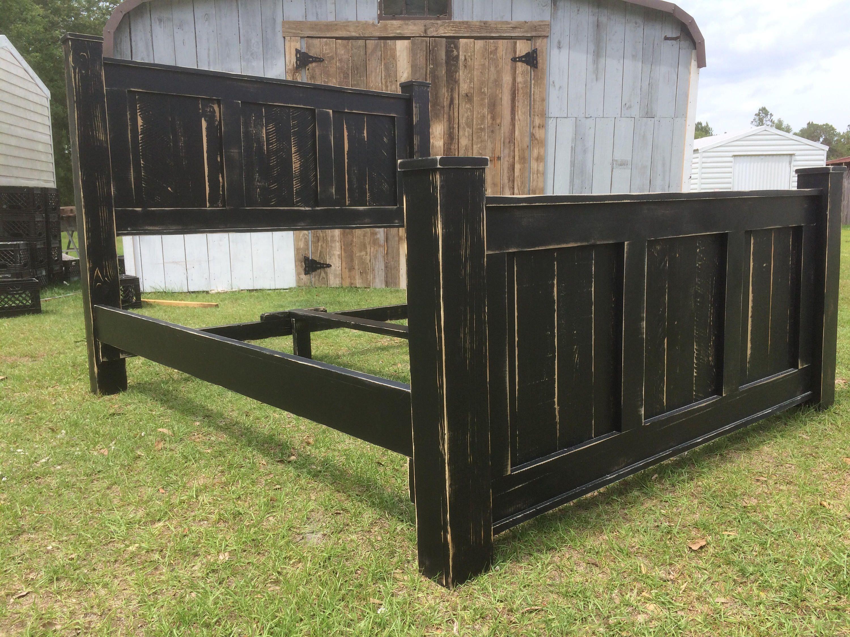 THE GRIFFIN Wood bed frame/bedroom furniture