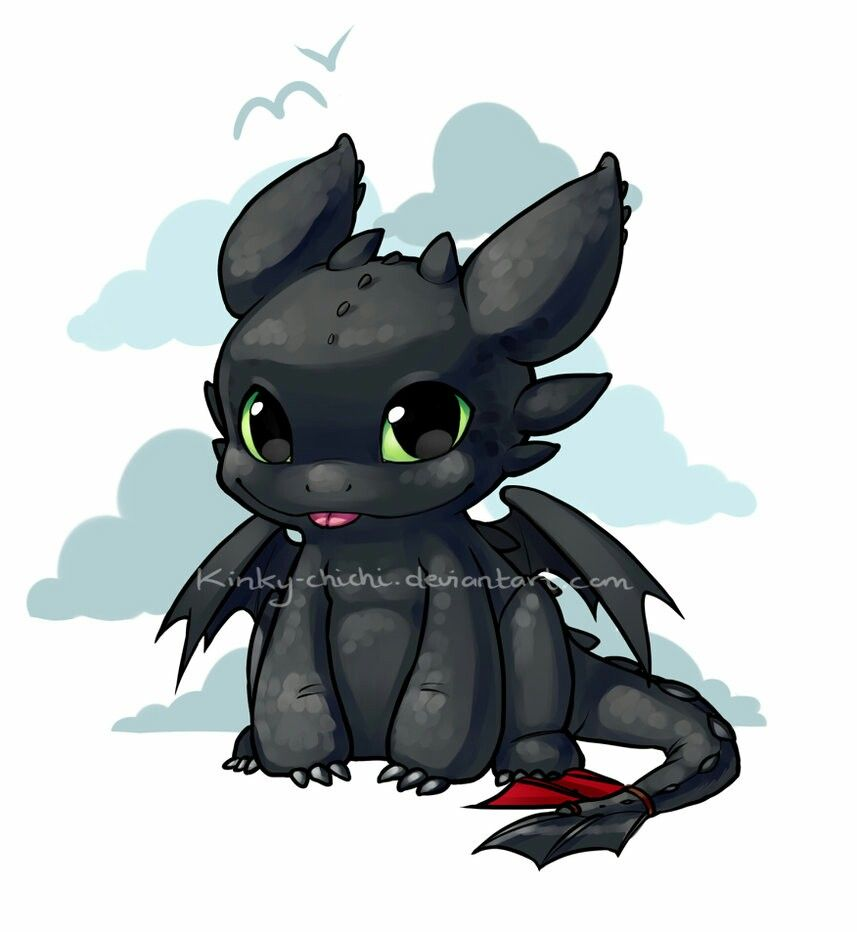 Toothless So Adorable How Train Your Dragon Dragon Drawing Cute Toothless