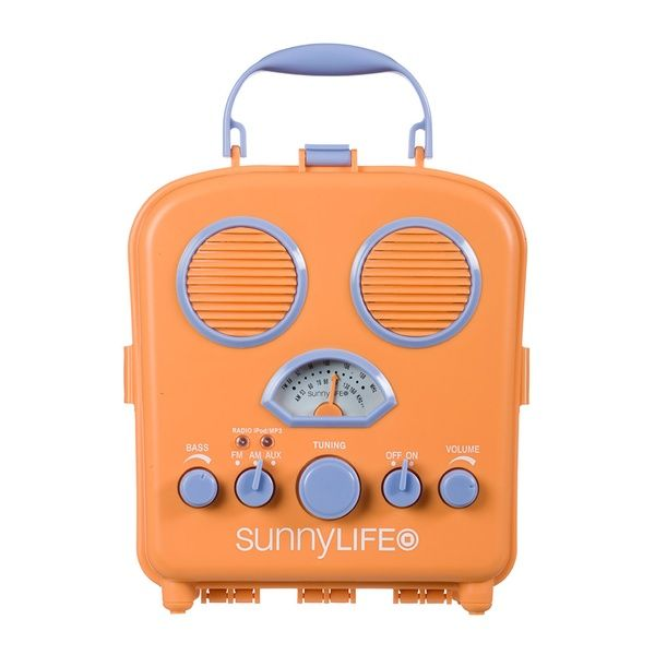 Beach/Travel iPhone Radio...great for summer and good gift!