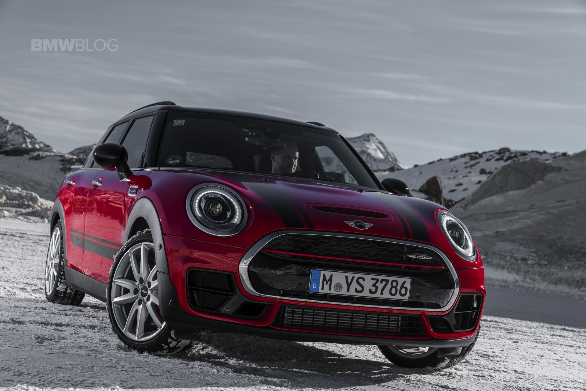 The new 2017 mini john cooper works clubman with 231 hp http