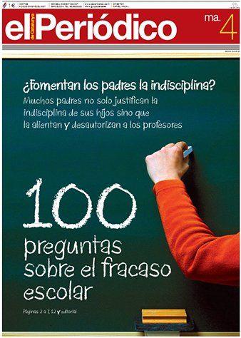 04/12/2007.- El diario dedicó este día ocho páginas, más la portada y un editorial, para explicar los problemas del sistema educativo español y las posibles soluciones para mejorar la tasa de fracaso escolar.