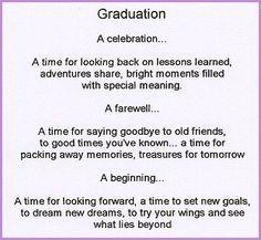 poems for graduating daughters | high school graduation poem ...