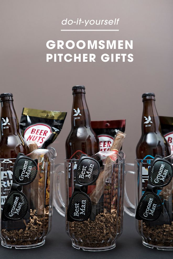You Have To See These Awesome Groomsmen Beer Pitcher Gifts Check