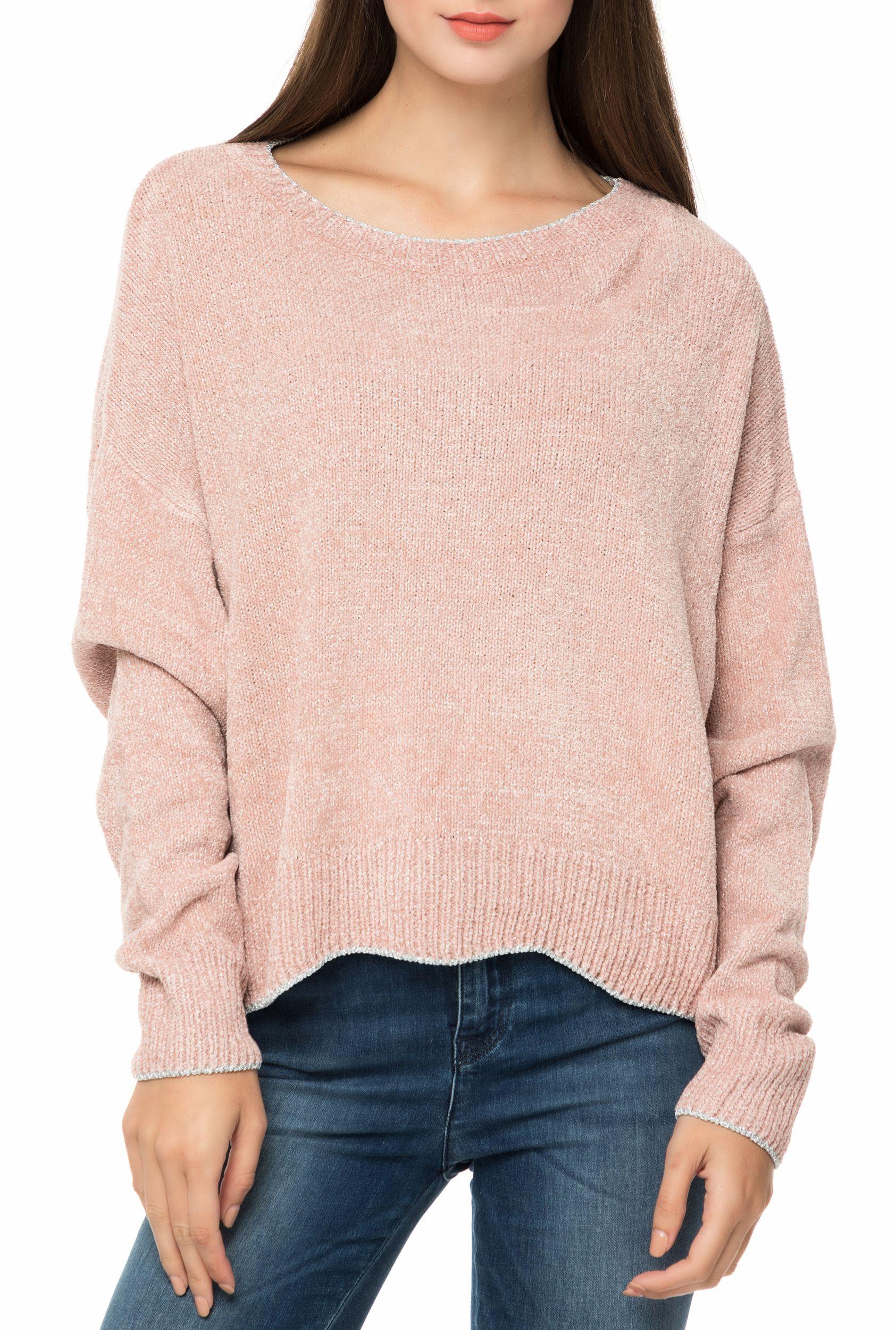 7347125a165 GAS – Γυναικείο πουλόβερ GAS TRICOT LUEL CHENILLE YARN ροζ | DRESS ...
