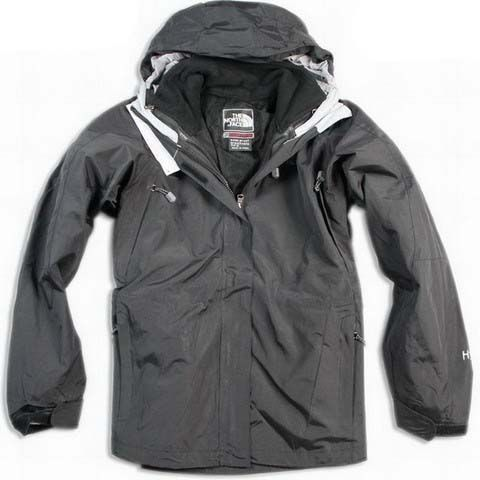 North Face Hyvent Jacket Clearance Waterproof Women Black White