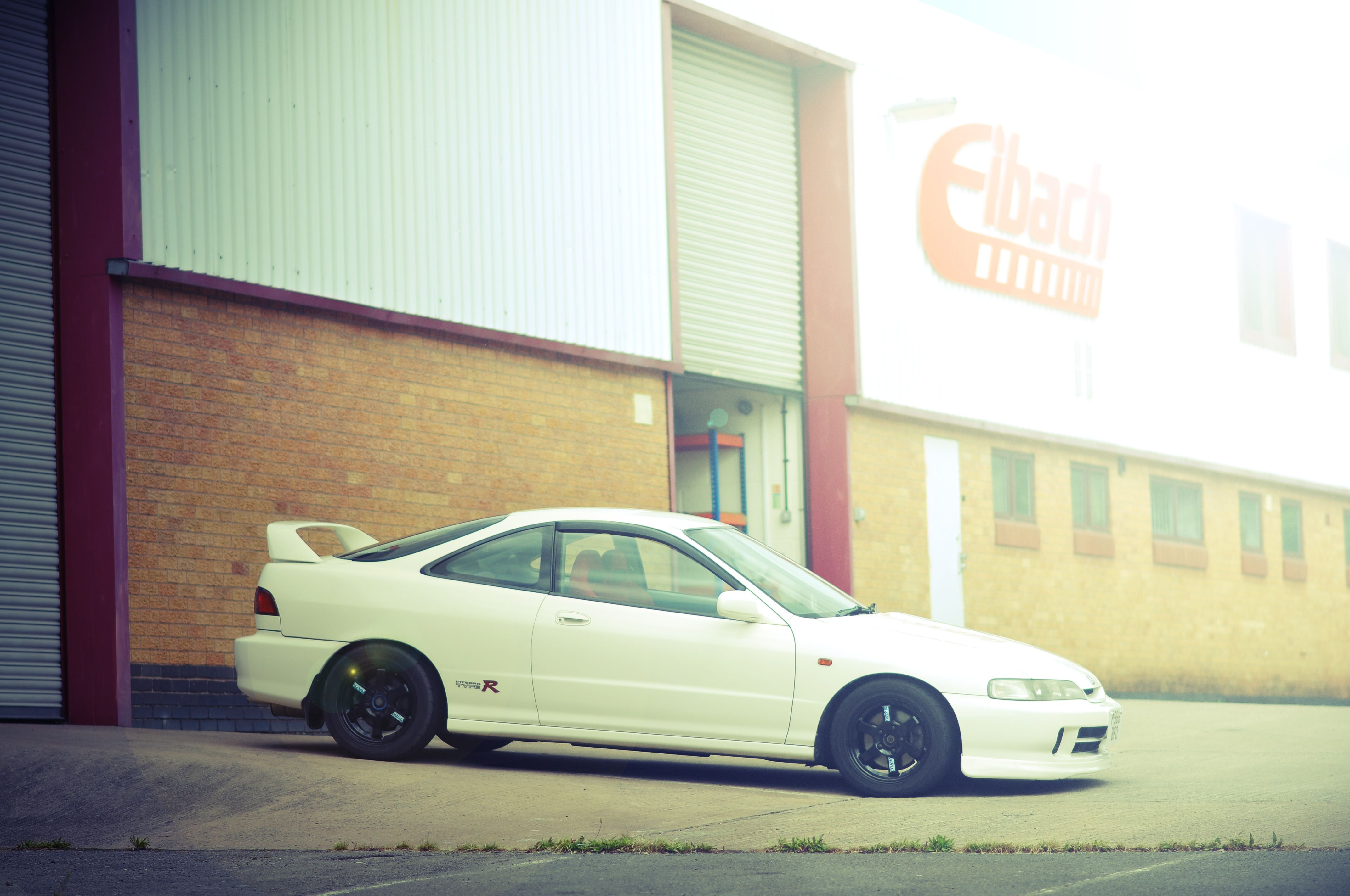 K Swapped Jdm Honda Integra Dc2 Type R On Volk Racing Te37 Wheels Captured At Eibach Uk Japan Cars Jdm Jdm Honda