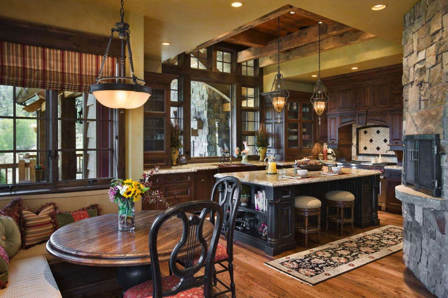 Fabulous Rustic Ranch Home In Nevada By Locati Architects Rustic Kitchen Western Kitchen Decor Home