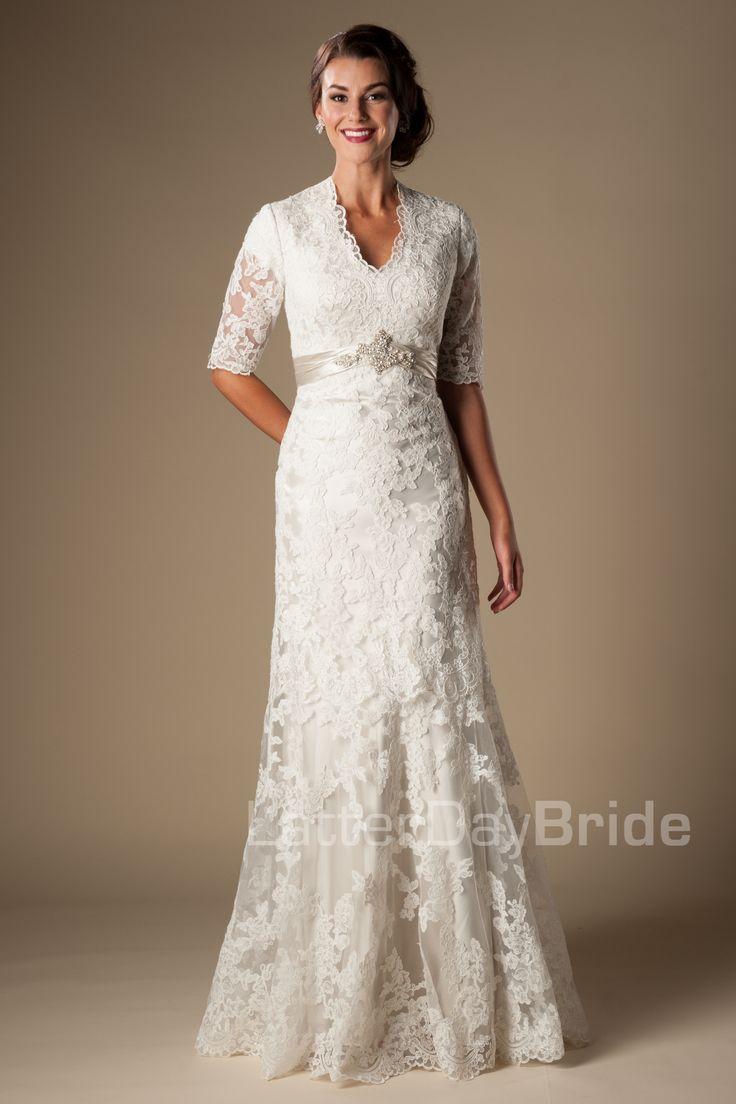 Off White Second Wedding Dress